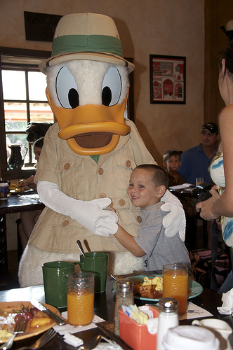 Donald's Safari Breakfast