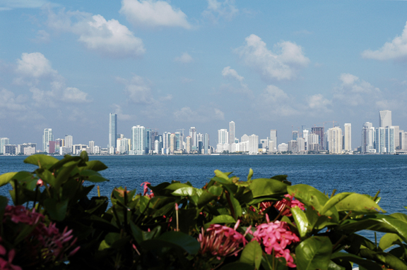 Miami Skyline © Holiday Tripper