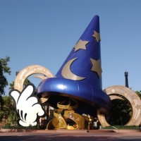 Sorcerer Hat, Hollywood Studios ©Disney World