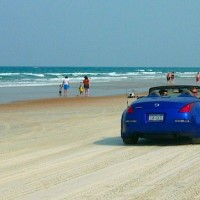 Drive on Daytona Beach