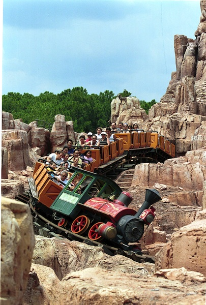 Big Thunder Mountain Railroad  © The Walt Disney Company