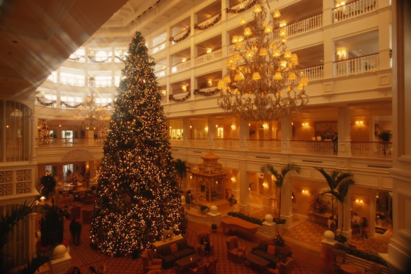Treat yourself to Christmas in the luxury of Disney's Grand Floridian