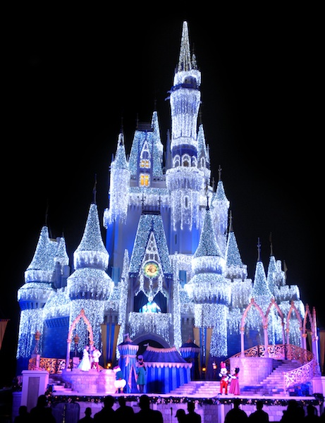 Cinderella's Castle turns to Ice ©Gene Duncan