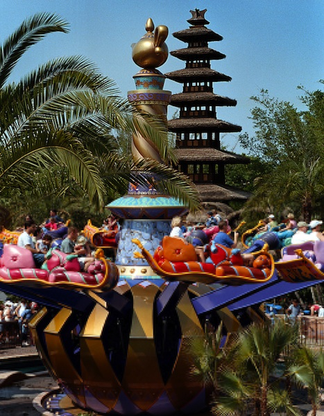 The Magic Carpets of Aladdin © The Walt Disney Company