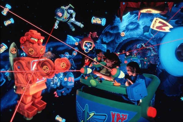 Buzz Space Ranger Spin ©The Walt Disney Company