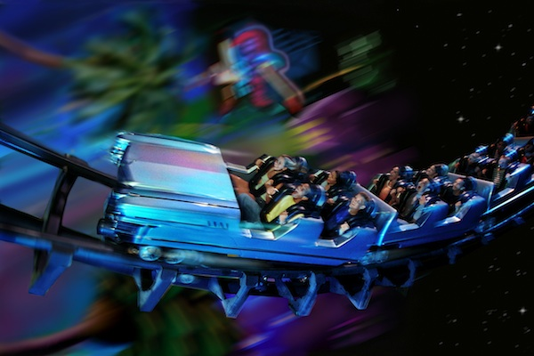 Aerosmith Rock 'n' Roller Coaster © The Walt Disney Company