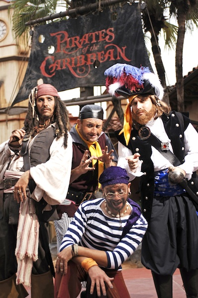 Pirates of the Caribbean ©The Walt Disney Company