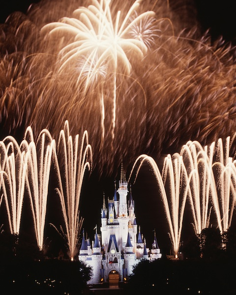 Celebratory Fireworks ©The Walt Disney Company