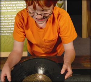 Panning for gold at the Imaginarium ©Imaginarium