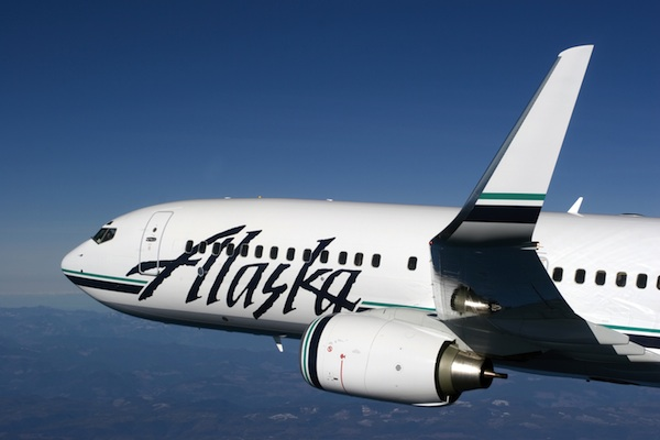 Alaska Airlines flight © Alaska Airlines