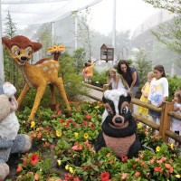 Bambi in flowers &#169 Epcot International Flower and Garden Festival