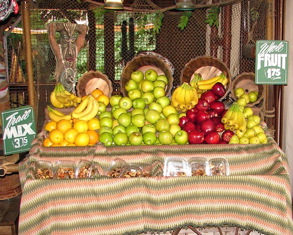 Fresh fruit for sale! ©The Walt Disney Company