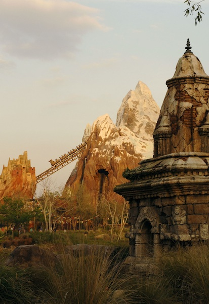 Expedition Everest, one of DIsney's most popular rides ©The Walt Disney Company