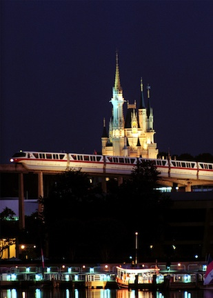 Monorail ©The Walt Disney Company