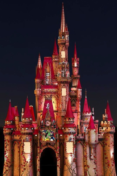 Romantic Cinderella Castle (credit: The Walt Disney Company)