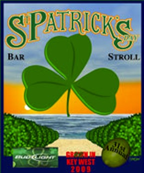 Key West Pub Crawl &#169 St. Patricks Day Bar Stroll