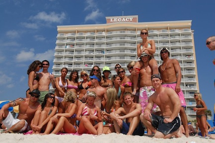 Spring Break (credit: Panama City Beach CVB)