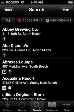 Black Book City Guide app © HolidayTripper.com