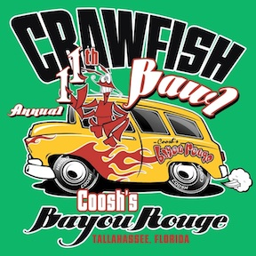 Crawfish Brawl @Coosh's Bayou Rouge