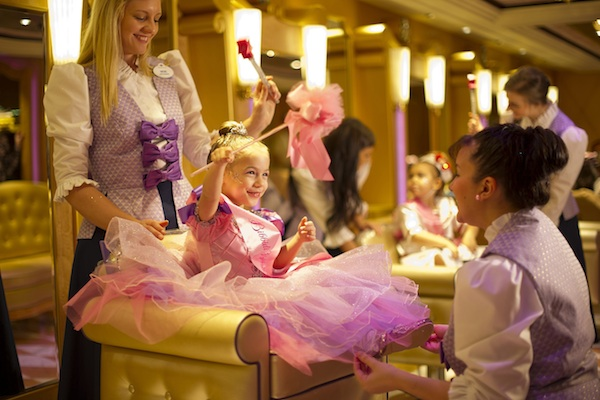 Bibbidi Bobbidi Boutique on the Disney Fantasy @ Matt Stroshane
