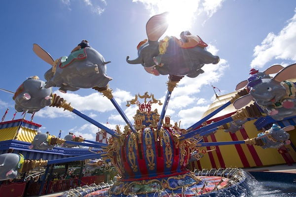 Flying Dumbo @ The Walt Disney Company