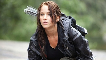 Jennifer Lawrence in The Hunger Games &#169 Murray Close