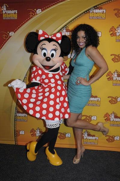 Jordin Sparks with Minnie @ Phelan Ebenhack