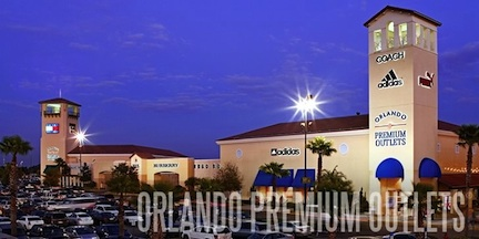 The Shops &#169 Orlando Premium Outlets Vineland Ave