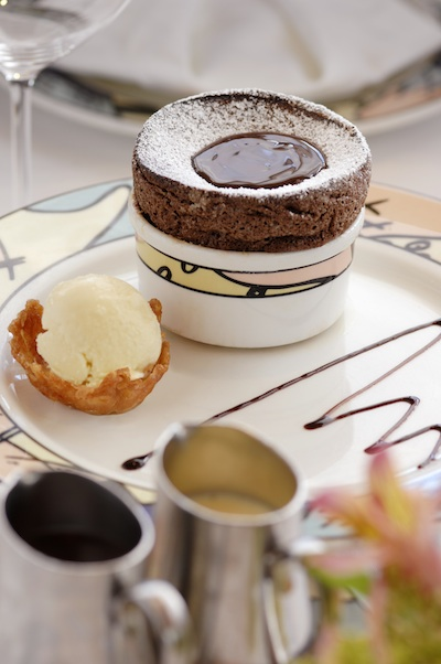 Palo Chocolate Souffle © The Walt Disney Company