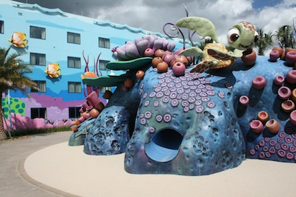 Finding Nemo Playground &#169 Art of Animation Resort