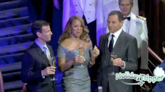 Disney Fantasy's New York Christening with Mariah Carey [Video]