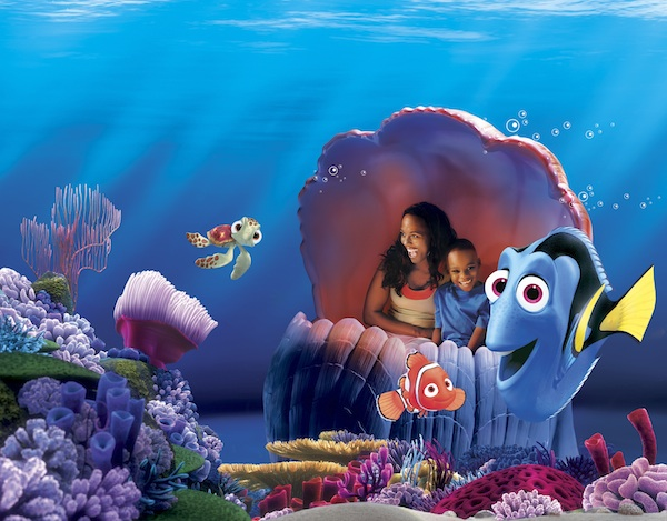 The Seas with Nemo & Friends ©The Walt Disney Company
