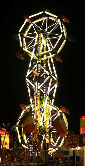 The Double Ferris Wheel @ Sarasota Agricultural Fair