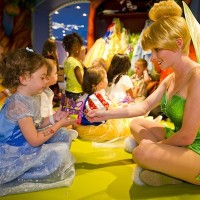 Tinker Bell Visits Pixie Hollow at the Oceaneer Club (credit: Matt Stroshane)