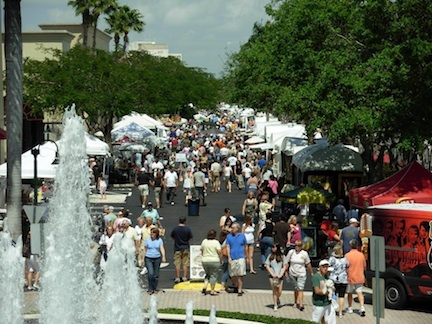 The Crowd @ Coral Springs Festival of the Arts