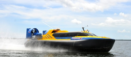 Hovercraft &#169 Hover-Tour, Key Largo