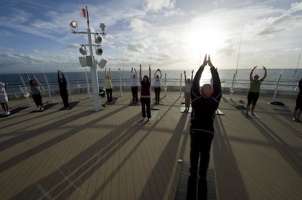 Yoga on Deck &#169 The Walt Disney Company