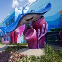 Whimsy at the new Art of Animation Resort &#169 Matt Stroshane
