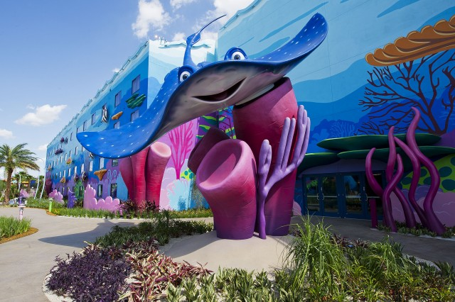 Whimsy at the new Art of Animation Resort @ Matt Stroshane