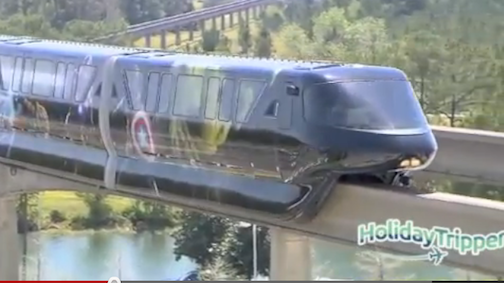 "Marvel's ""The Avengers"" Monorail Debuts at Walt Disney World Resort [Video]"