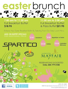 Easter Brunch @ Spartico