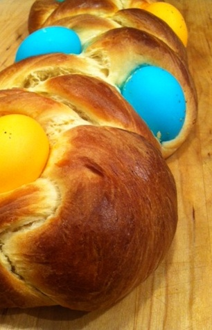 Easter bread photo