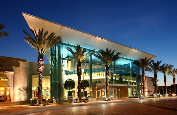 Entrance of Mall at Millenia (credit: Mall at Millenia)