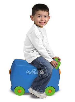 Riding on the trunki @Melissa & Doug