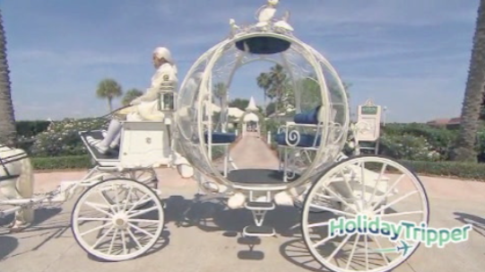 Best Wedding: Every bride is a princess in Cinderella's Coach [VIDEO]