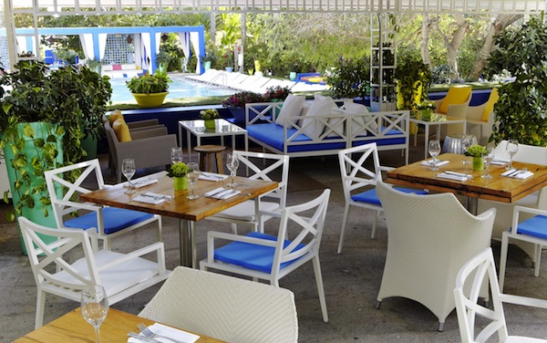 Dine by the pool &#169 Terrazza Shore Club