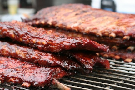 Ribs &#169 Gulf Coast Rhythm and Ribfest