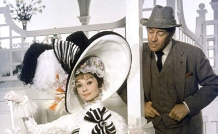 Audrey Hepburn and Rex Harrison in My Fair Lady