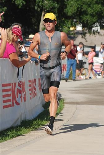Lance Armstrong in the Ironman (credit: Ironman.com)
