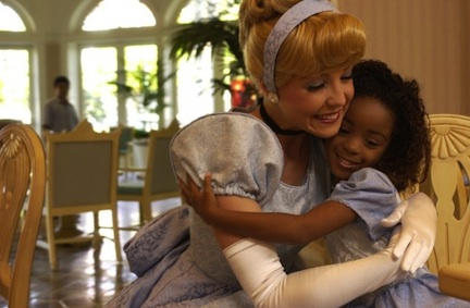 Cinderella makes a dream come true (credit: The Walt Disney Company)